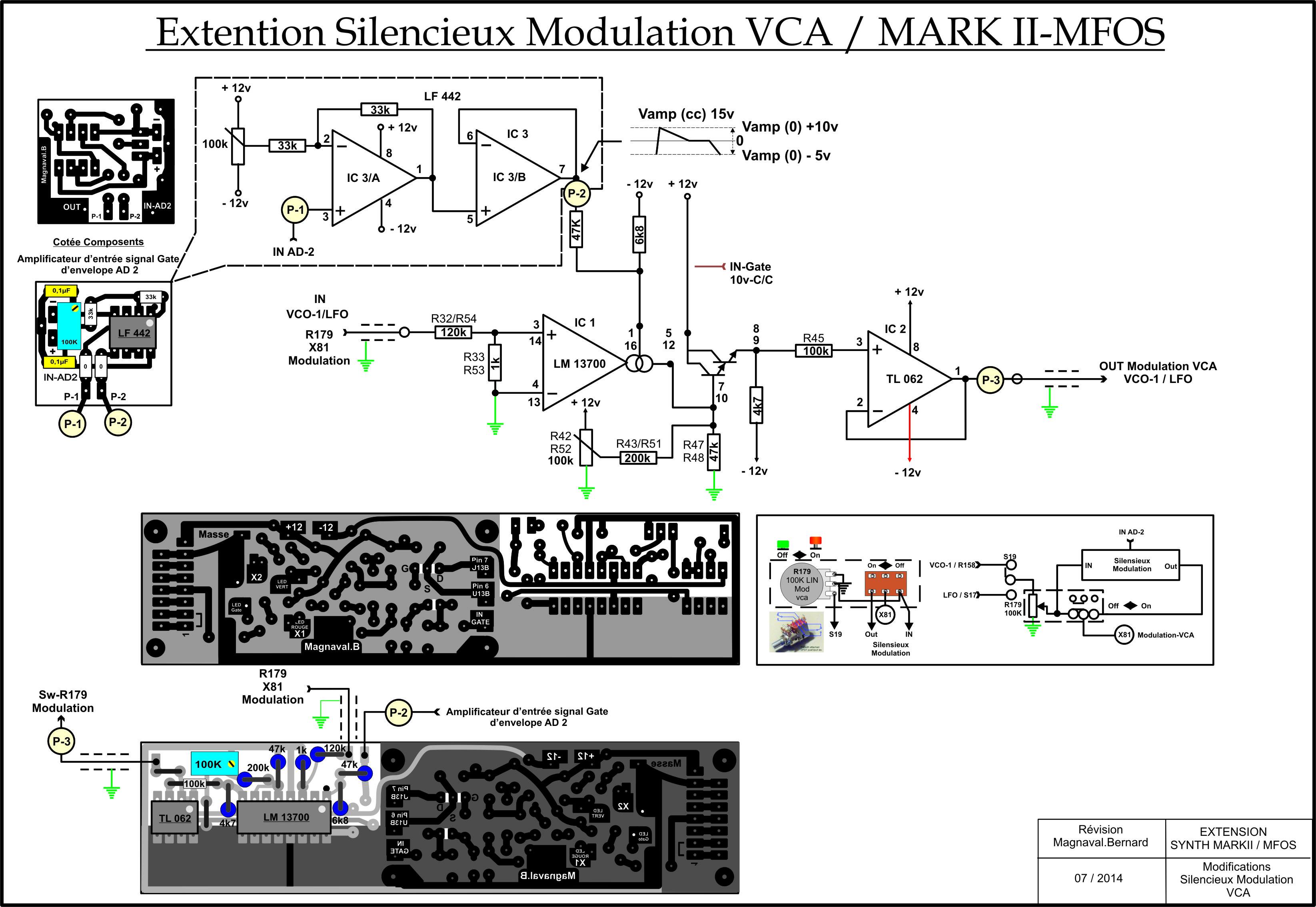 Extention silencieux VCA
